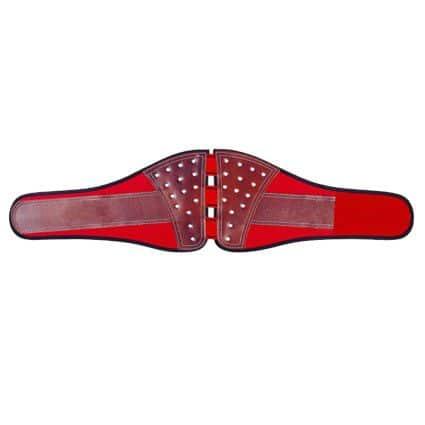 Cinturones lumbares de cuero