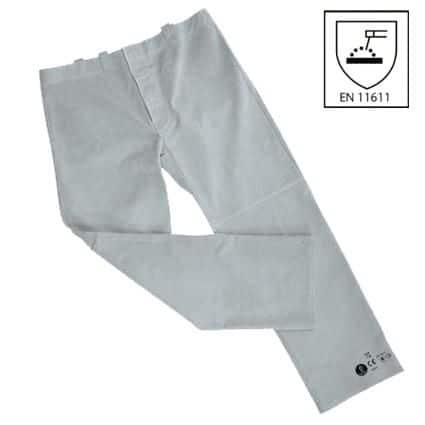Pantalon Soldador Serraje Lpa558 Ropa Proteccion Para Soldar