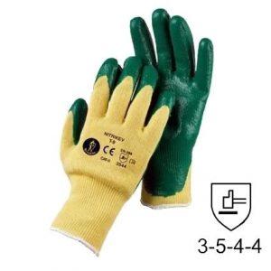 guantes de nitrilo anticorte