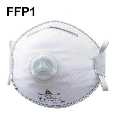 Mascarilla FFP1 con válvula