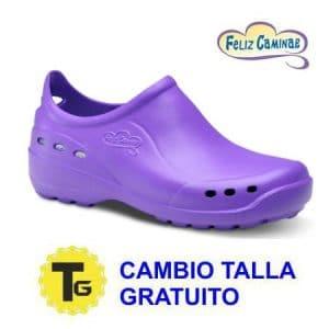 calzado sanitario cerrado shoes feliz caminar