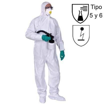 Mono protección química desechable DT115