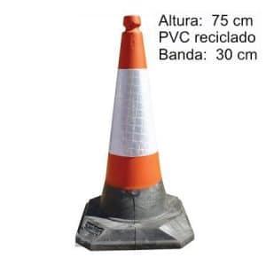 conos carretera roadhog 75 cm