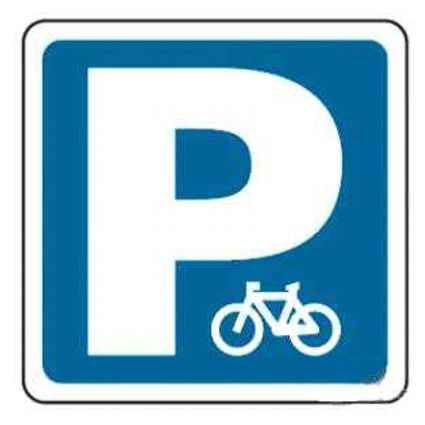 Señal parking para bicicletas