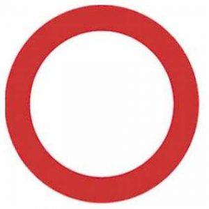 Señal circulación prohibida