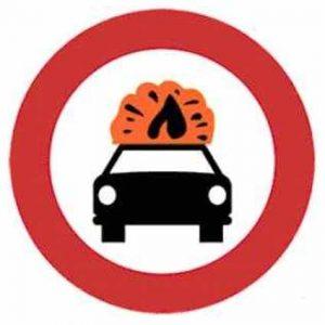 Señales de tráfico R109