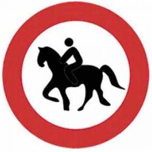 entrada prohibida a animales
