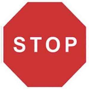 Señal de tráfico Stop