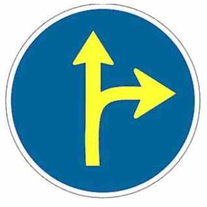 Señal circular de tráfico