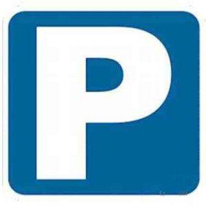 señales tráfico de estacionamiento