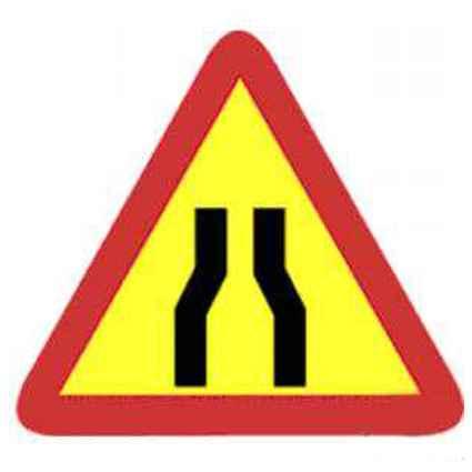 Señales tráfico obras