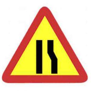 señales de peligro de tráfico