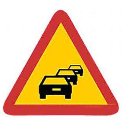 Señales de peligro tráfico