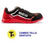 Zapatos Sparco nitro rojo