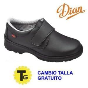 Zapato Dian Milan liso negro