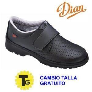 Zapatos Dian Milan Picado negro
