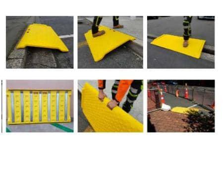 rampa protección peatones preventec