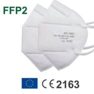 Mascarilla seguridad FFP2 sin valvula