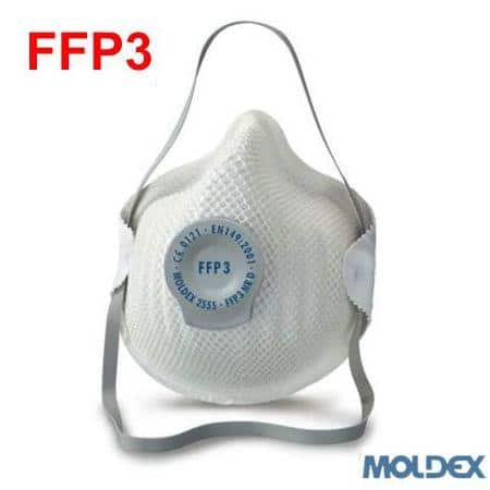 Mascarillas FFP3 Moldex