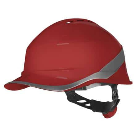 Casco delta plus diamond vi wind rojo