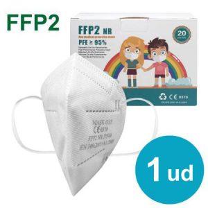 Mascarillas para niños ffp2 blancas