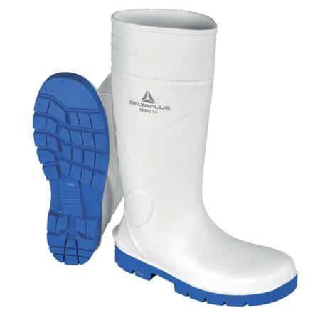 Botas agua seguridad blancas