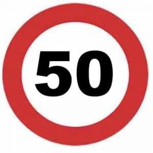 Señales de límite velocidad